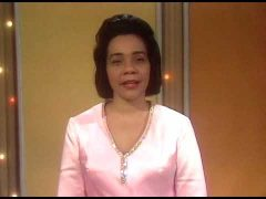 Coretta Scott King Introduces Martin Luther King Jr. Speech Clips on The Ed Sullivan Show